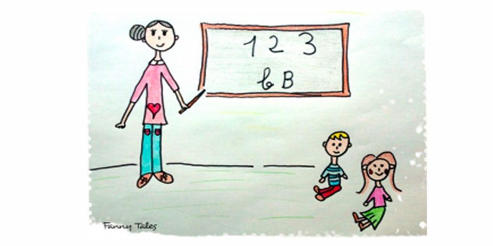 La profesora Rosaura, un cuento infantil sobre los maestros
