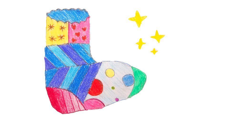 Un cuento para niños sobre la empatía: El calcetín que no se quería dormir