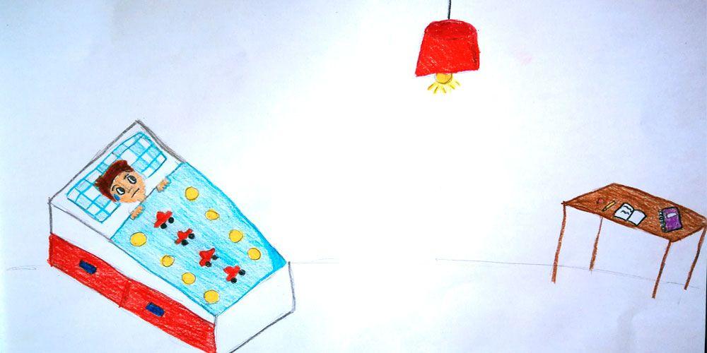 Un cuento para niños con miedo a los fantasmas: Hay una fantasma en mi bombilla