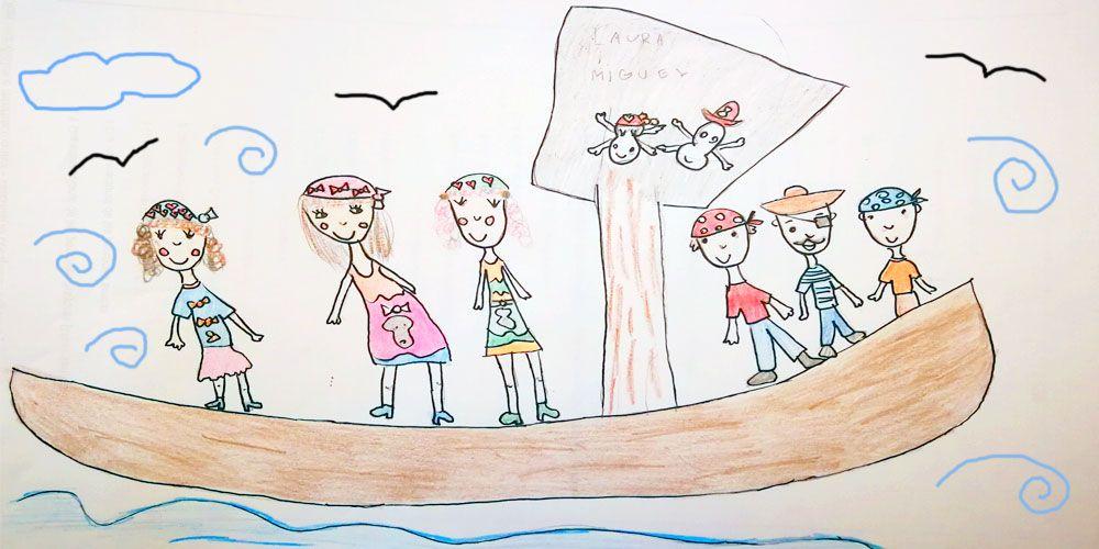 Mamá, quiero ser... ¡pirata!. Cuento infantil sobre la igualdad de género