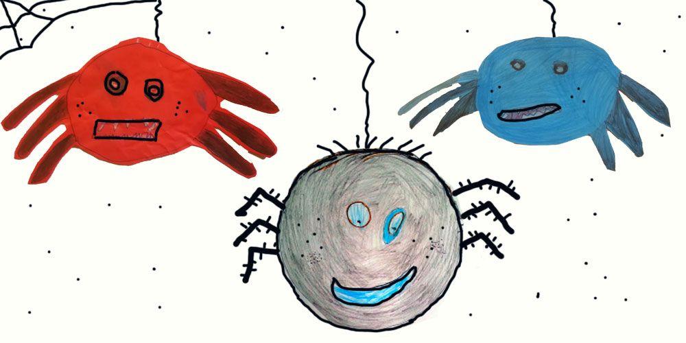 La araña que inventó Halloween, cuento corto para niños