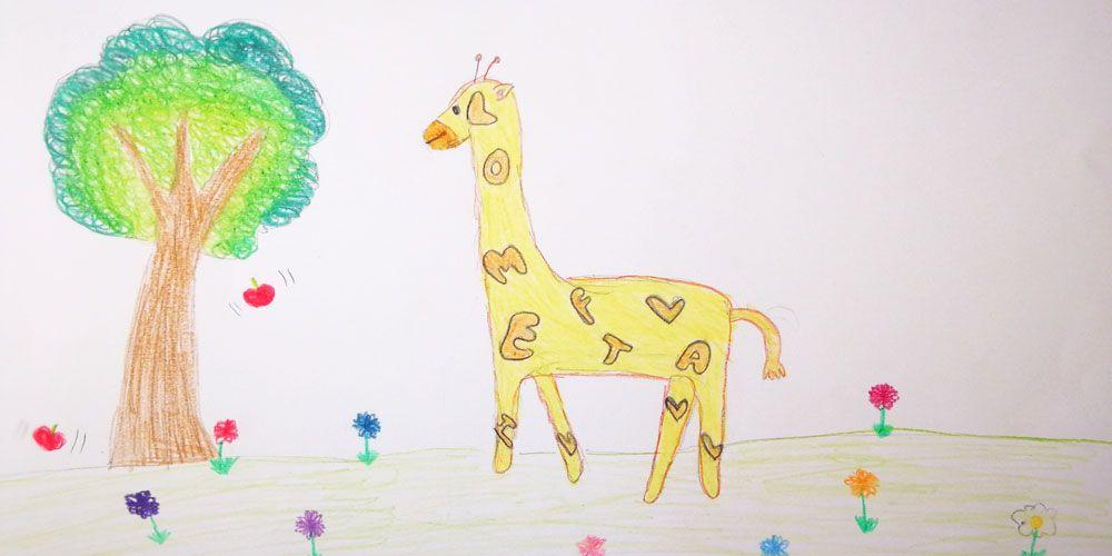 La jirafa más lata, un cuento para incentivar a los niños en la lectura