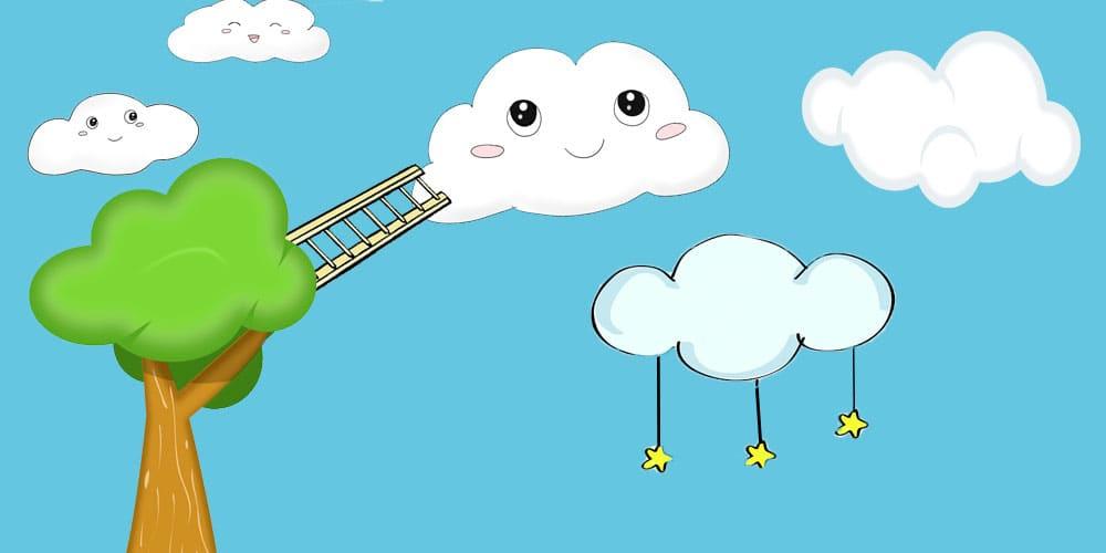 Cuento infantil para incentivar la imaginación de los niños: Nubes de plastilina