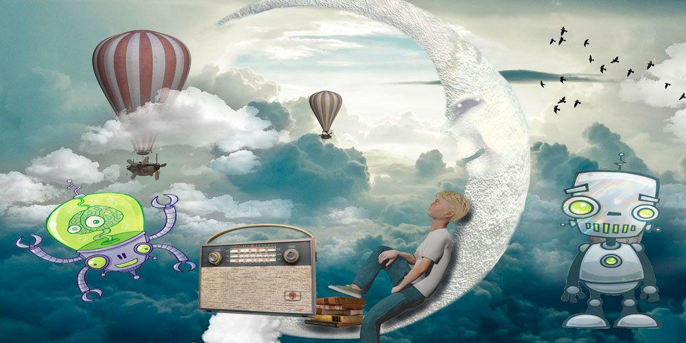 Cuento sobre las pesadillas para los niños: La radio de los sueños