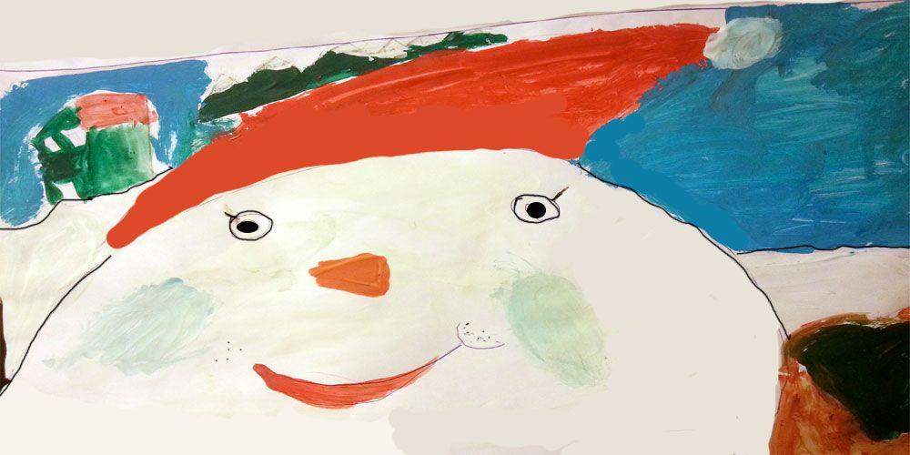 Cuento de Navidad con valores: el muñeco de nieve