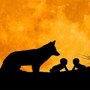 Rómulo y Remo. Leyenda para niños sobre las adopciones