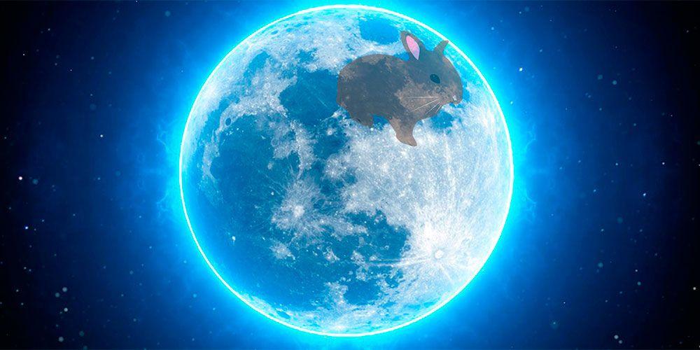 Leyenda El conejo del a luna
