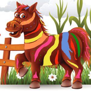 El caballo de los siete colores. Leyenda de Guatemala sobre la gratitud para niños