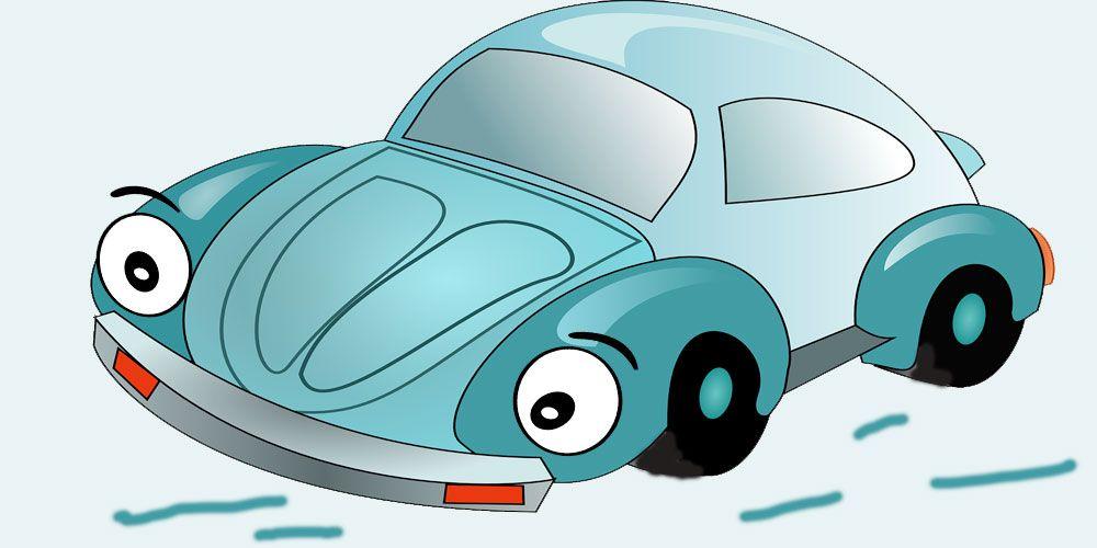 Cómo se dibuja un coche. Poesía de Gloria Fuertes