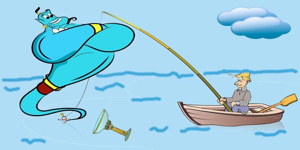 Cuento de gratitud para los niños: Historia de un pescador