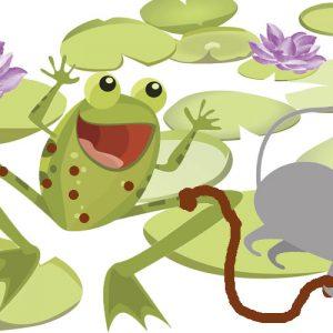 El ratón y la rana. Fábula sobre las burlas para los niños
