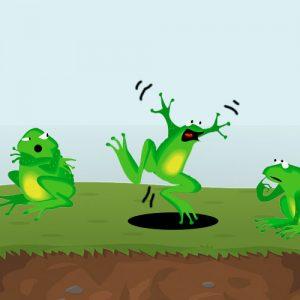 La rana sorda. Fábula para niños sobre la motivación