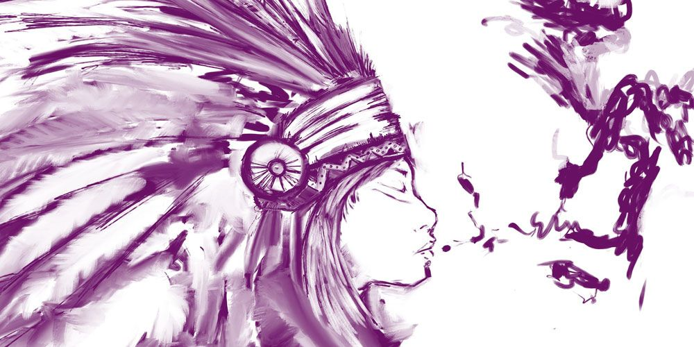 Las tres pipas: leyenda india sobre la ira