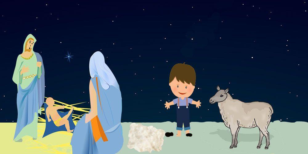 Cuentos de Navidad para niños sobre la caridad: El niño Manuelito