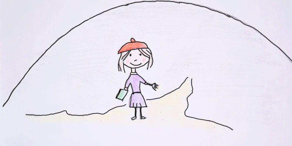 Una carta para Balma, un cuento de misterio para niños