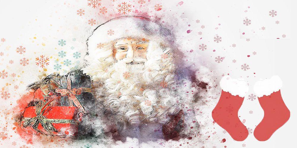 Leyenda navideña para niños: los calcetines de Santa Claus