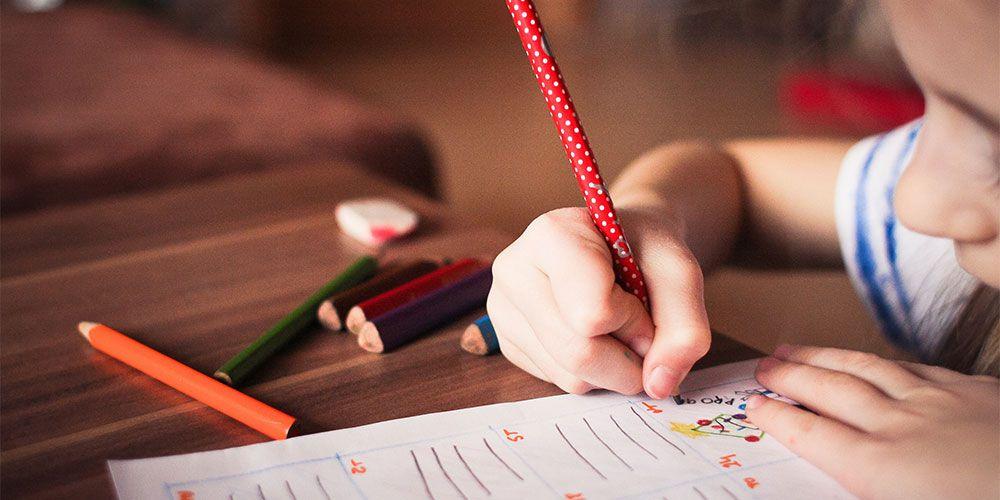 Dictados cortos con palabras llanas para niños