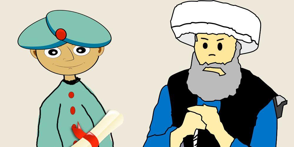 Cuento El poeta y el Califa, un cuento para niños sobre las mentiras