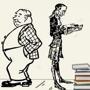El sobrio y el glotón. Fábula en verso para niños y mayores