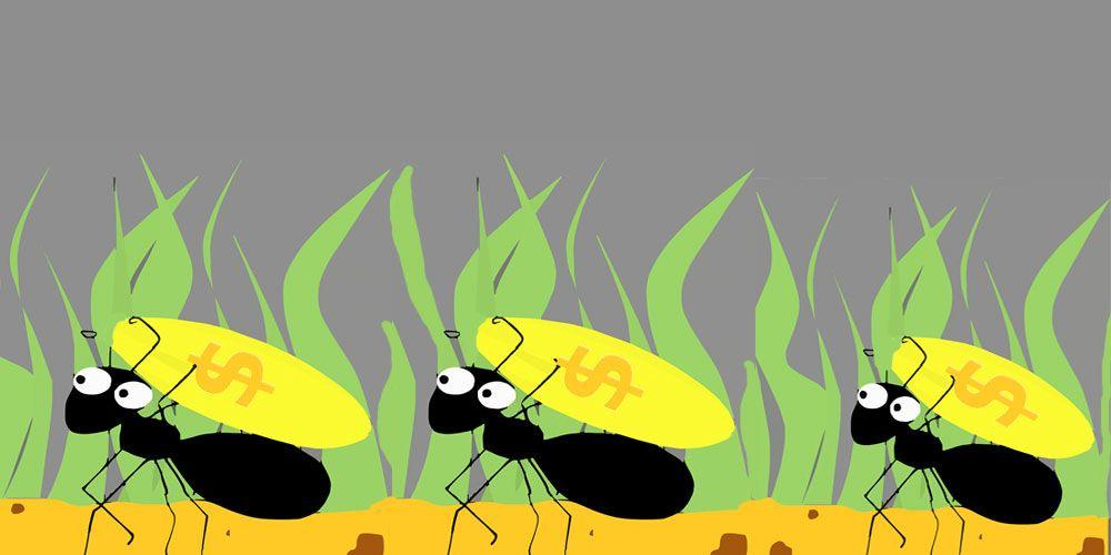 Una leyenda sobre la justicia: las hormigas y el tesoro