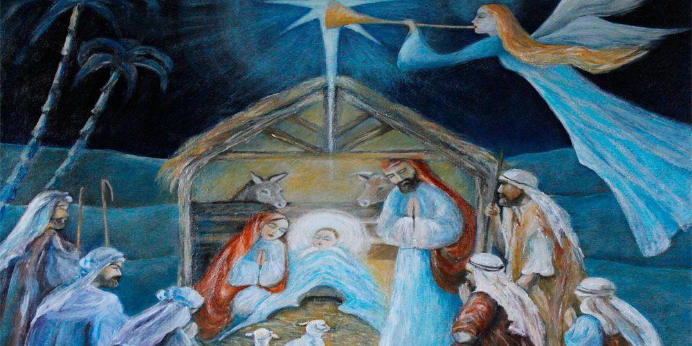 El Nacimiento del niño Jesús contado para niños