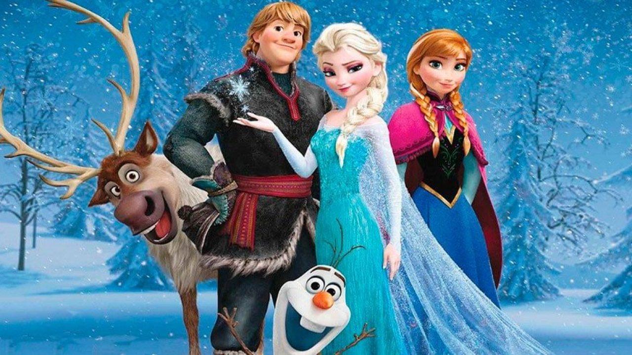 Frozen Cuento Basado En La Película De Disney Para Niños