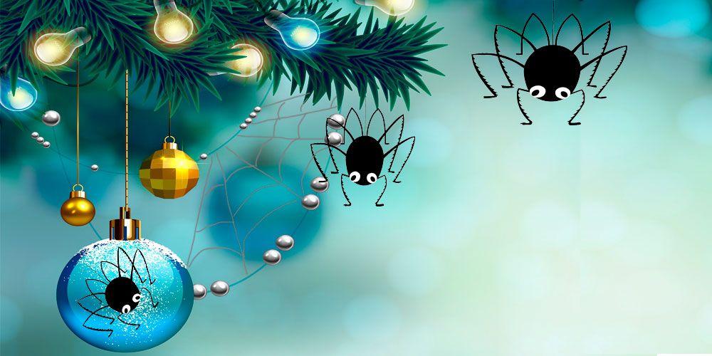 Leyenda de Navidad para niños: las arañas de la Navidad