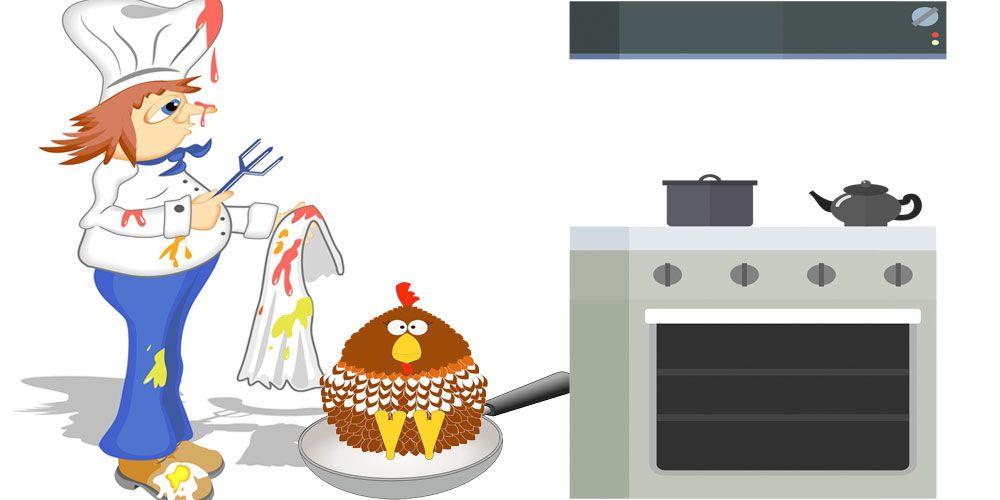 Poesía de Gloria Fuertes para niños: El cocinero distraído