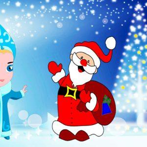 La doncella de la nieve. Leyenda de Navidad para niños