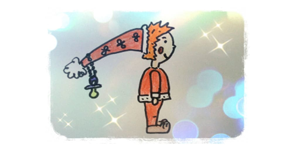El duende de los chupetes, un cuento corto para niños pequeños