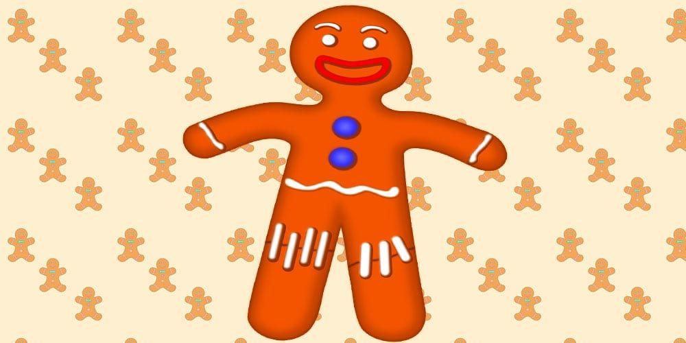 Cuento de Navidad para niños: el hombre de Jengibre