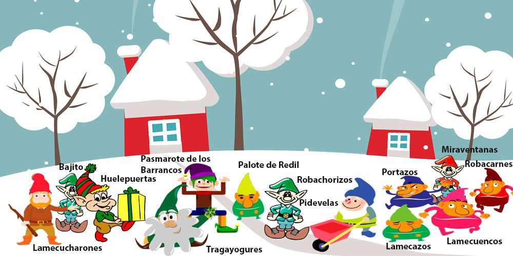 Leyenda de Navidad islandesa: Los 13 hombrecillos de la Navidad