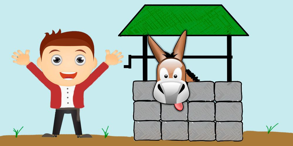 Cuento infantil sobre la perseverancia y la confianza en uno mismo: El granjero y la mula