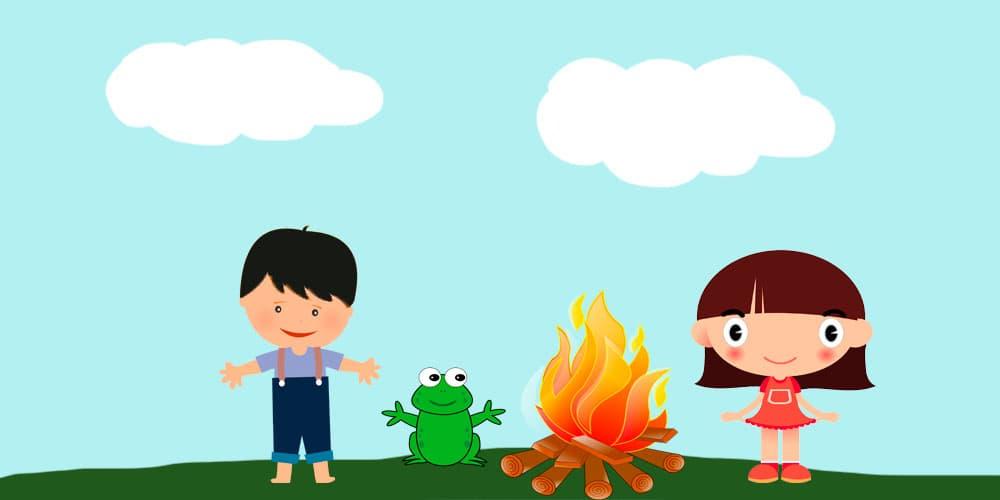 Leyenda de 'Los niños y el fuego'