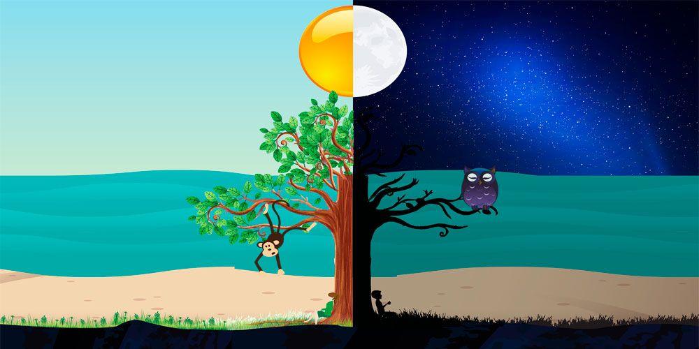 La leyenda brasileña del día y la noche