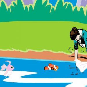 Los peces en el río. Villancico de Navidad para niños <h3> Letras de canciones de Navidad para cantar con los niños <h3>