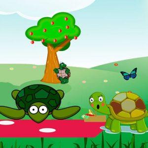 El picnic de las tortugas. Fábula moderna para niños <h3> Una fábula para niños y adultos sobre la desconfianza y los celos  <h3>