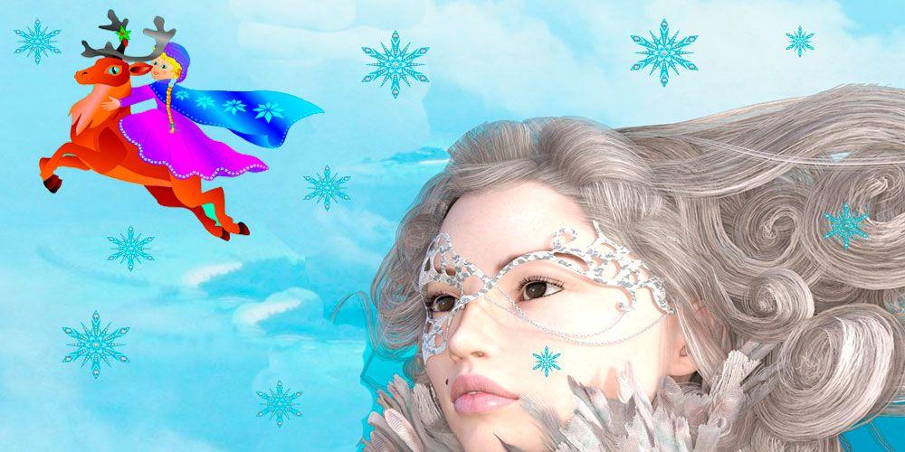 Cuento infantil sobre el bien y el mal: La reina de las nieves