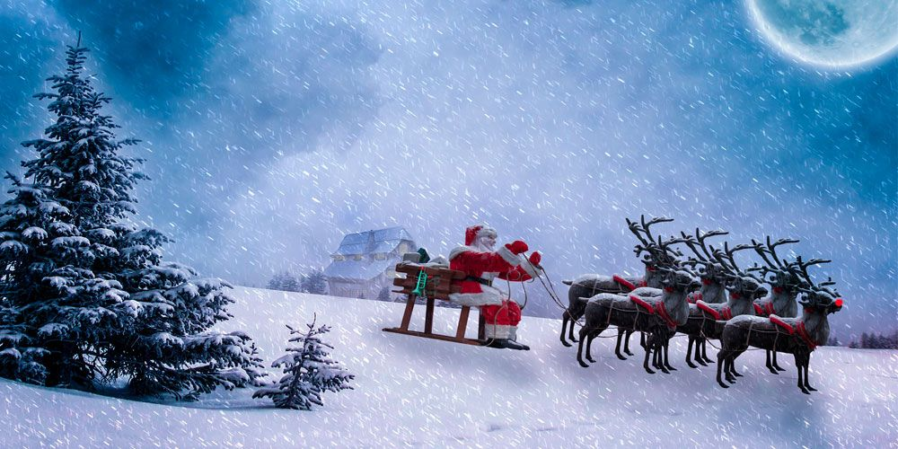 Cuento de Navidad para niños: los 9 renos de Santa Claus