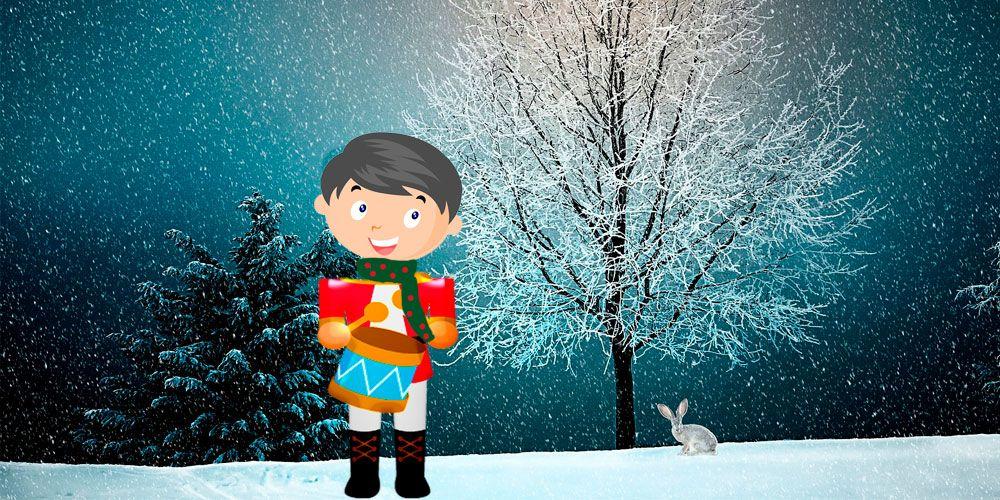 Villancico de Navidad para niños: El tamborilero