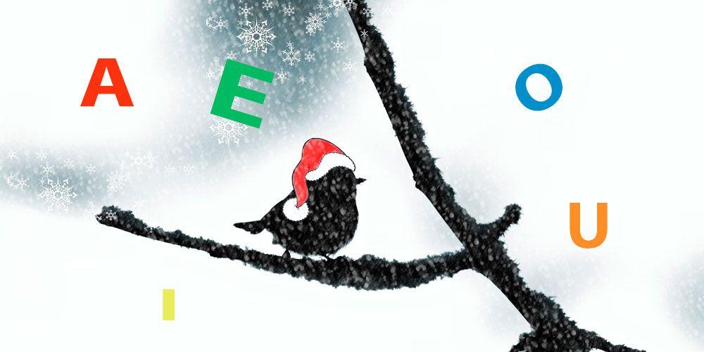 Los mejores villancicos de Navidad para los niños: villancico de las vocales