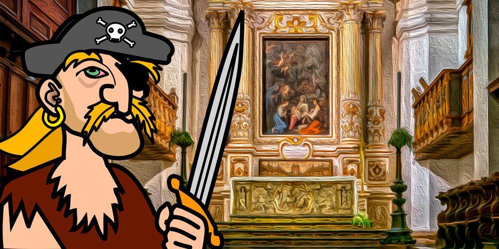 Leyenda de piratas para niños: El altar de oro