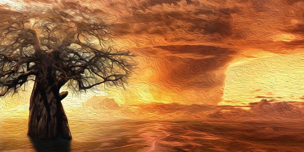 Una leyenda africana sobre la soberbia: leyenda del Baobab