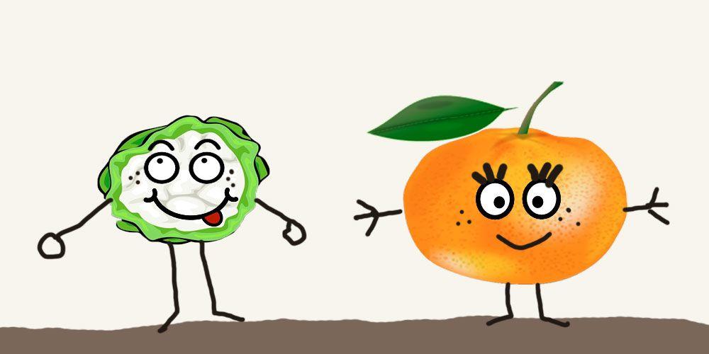 Cuento para niños que no quieren comer verduras o frutas