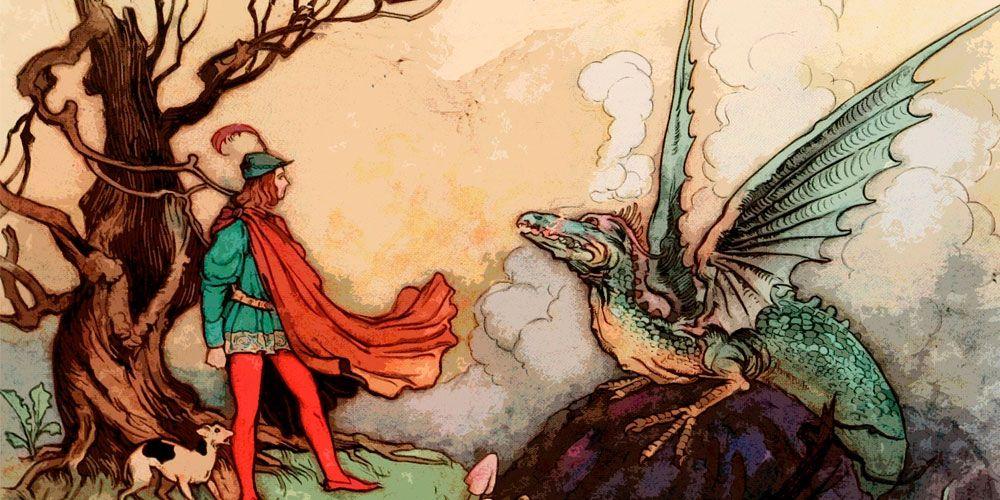 Cuento infantil de dragones