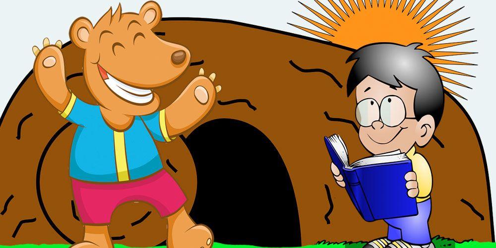 El oso misterioso, un cuento para niños sobre los amigos invisibles