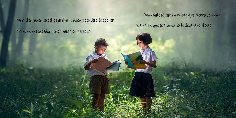 Refranes españoles, refranes populares para niños
