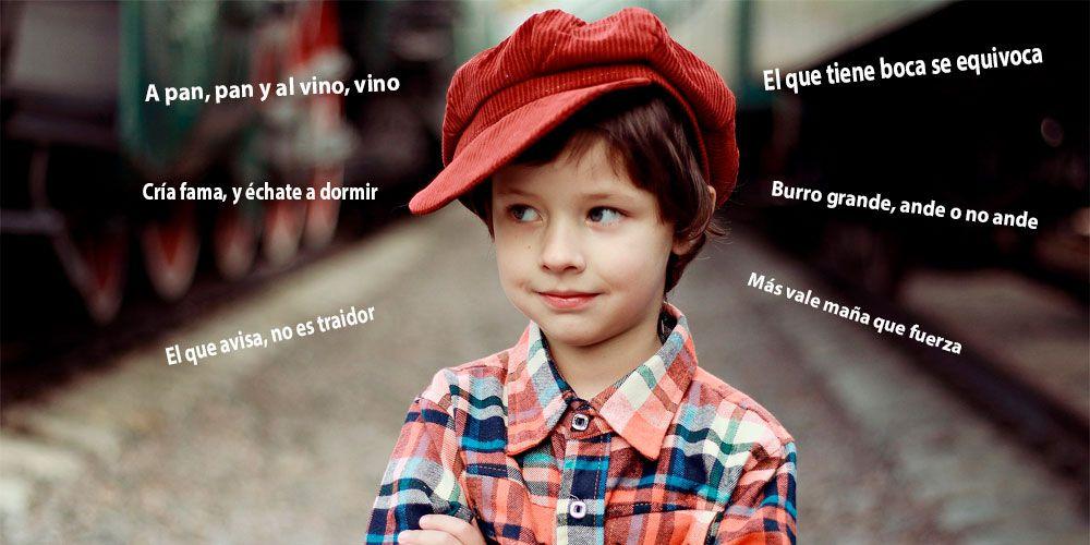 Refranes populares explicados para niños