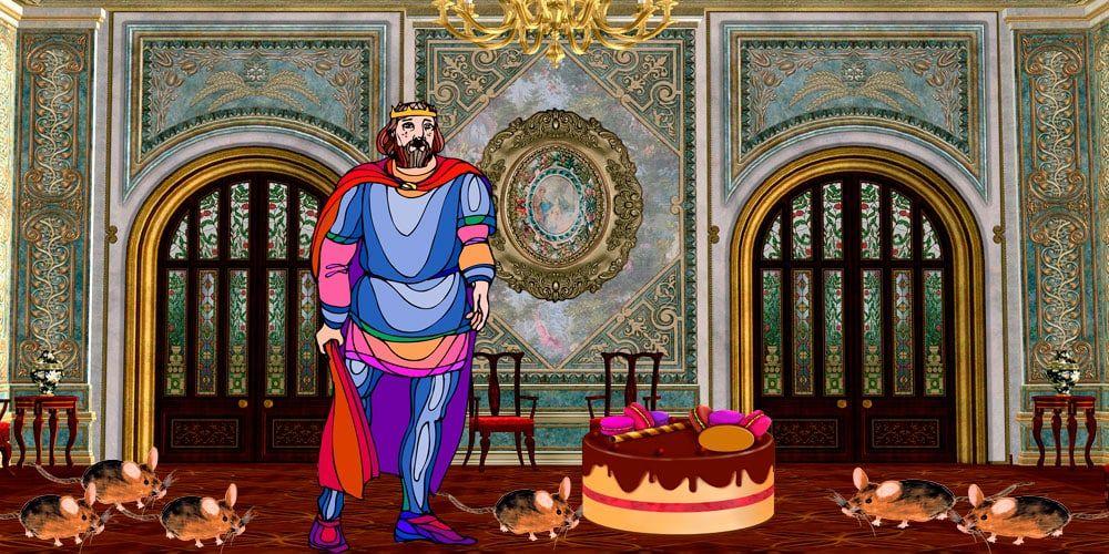 Cuento sobre la resolución de problemas: El rey glotón y los problemas