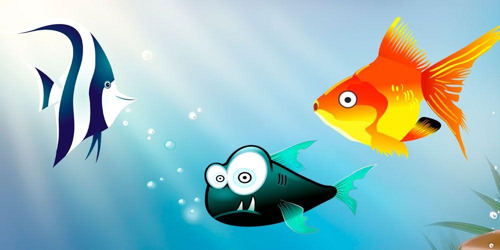 Fábula sobre la prudencia y el ingenio: Los tres peces